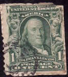 Stamps America - United States -  FRANKLIN