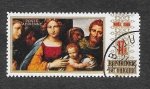Stamps Burkina Faso -  Señora y el Niño