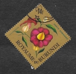 Stamps Burundi -  C20 - Thunbergia
