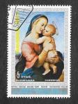 Sellos de Africa - Guinea Ecuatorial -  Virgen y el Niño