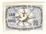 Sellos de America - Chile -  Año internacional del turismo. 1967.