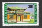 Stamps Mongolia -  804 - Templo de la Caridad
