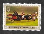 Sellos de Africa - Rwanda -  326 - Derby de Epsom