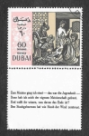 Sellos de Asia - Emiratos Árabes Unidos -  Poema de Omar Khayyam