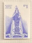 Sellos de America - Chile -  Virgen con el niño. Iglesia nacional O'Higgins en Maipu.