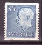 Stamps Sweden -  Gustavo Adolfo VI