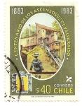 Stamps Chile -  Cent. de los ascensores de Valparaiso.1883-1983.