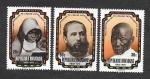 Stamps : Africa : Rwanda :  75º Aniversario de la Iglesia Católica en Ruanda