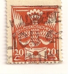 Stamps Czechoslovakia -  Paloma con carta