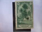 Stamps : Africa : Morocco :  Ed:108 - Alcazarquivir - Zona Protectorado Español en Marruecos.