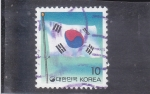 Stamps : Asia : South_Korea :  BANDERA