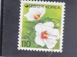 Stamps : Asia : South_Korea :  FLORES-