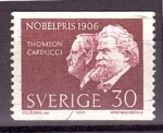 Sellos de Europa - Suecia -  serie- Premios Nobel