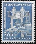 Stamps Czechoslovakia -  Checoslovaquia-cambio
