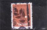 Sellos de Asia - Israel -  FLORES-
