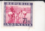 sello : Asia : Indonesia : CAMPESINOS