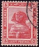 Stamps Egypt -  ESFINGE DE GISEH