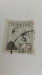 Stamps Turkey -  Atatuerk