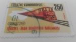 Sellos de Asia - Turquía -  Tren