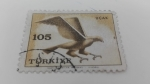 Stamps Turkey -  Aguila