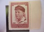 Stamps : Europe : Russia :  80°Aniversario del Nacimiento de Ernst Tälmann (1886-1944) Político Alemán- Movimiento Obrero Inter