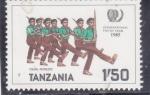 Sellos del Mundo : Africa : Tanzania : JUVENTUDES INTERNACIONALES