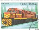Stamps Guinea Bissau -  LOCOMOTORA