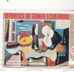 Stamps Equatorial Guinea -  MANDOLINA Y GUITARRA