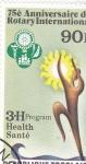 Stamps : Africa : Togo :  75 ANIVERSARIO DE ROTARY INTERNACIONAL