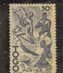 Stamps : Africa : Togo :  NATIVOS