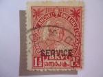 Stamps : Asia : India :  India Estados Nativos - Marajá Bala Rama Varma III (1912-1991)