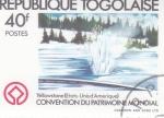 Sellos de Africa - Togo -  PARQUE DE YELLOWSTONE EE.UU