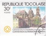 Sellos del Mundo : Africa : Togo : CATEDRAL D'AIX-LA-CHAPELLE (Alemania)