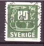 de Europa - Suecia -  serie- Pinturas rupestres