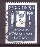 de Europa - Suecia -  Centenario Ley de Comunidades