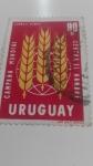 Sellos de America - Uruguay -  Hambre