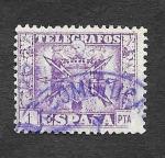 Stamps : Europe : Spain :  Escudo (Telegrafos)