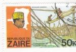 Sellos del Mundo : Africa : República_Democrática_del_Congo : EXPEDICIÓN RIO CONGO