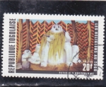 Stamps : Africa : Togo :  LAS RELIGIONES EN TOGO-FETICHE