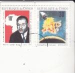 Sellos del Mundo : Africa : República_del_Congo :  MARTIN LUTHER KING-KENNEDY