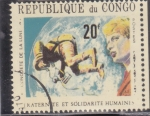 Stamps : Africa : Republic_of_the_Congo :  CONQUISTA DE LA LUNA