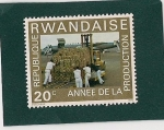 Stamps Africa - Rwanda -  Año de la Produccion
