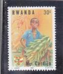 Stamps Africa - Rwanda -  asociación Josef Cardijn