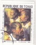 Stamps Africa - Chad -  SOLIDARIDAD HUMANA -RUBENS