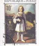 Stamps Africa - Chad -  RETRATO DE DUC REICHSTADT