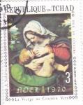 Stamps Africa - Chad -  LA VIRGEN Y EL NIÑO
