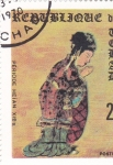 Stamps : Africa : Chad :  PERIODO HEIAN