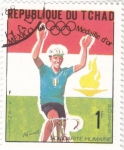 Stamps : Africa : Chad :  OLIMPIADA MEXICO-68