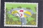 Stamps : Europe : Switzerland :  MUSEO INTERNACIONAL DE LA CRUZ ROJA-GINEBRA