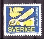 Stamps : Europe : Sweden :  Tratado de Paz
